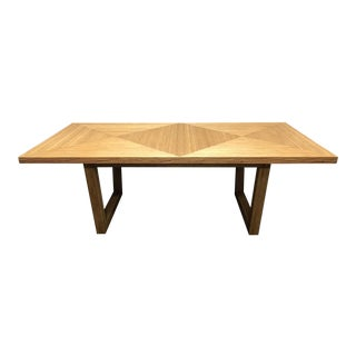 Lane Venture Madison Bamboo Dining Table For Sale