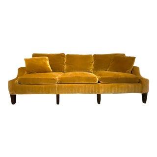 Trs Furniture Velvet Sofa For Sale