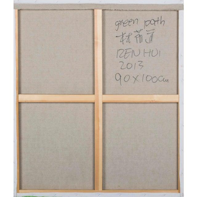 """Ren Hui """"Green Path/Boulevard"""" by Ren Hui For Sale - Image 4 of 5"""
