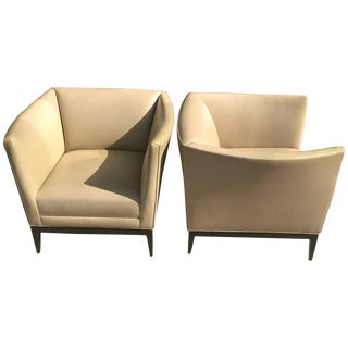 Pair of Lounge Chairs by Don Powell & Robert Kleinschmidt For Sale