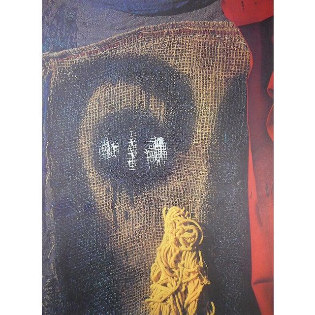 Mid-Century Modern Vintage Mid 20th C. Quadrichrome Photographic Prints-Derriere Le Miroir-Miro-Tapestries-A Pair For Sale - Image 3 of 6
