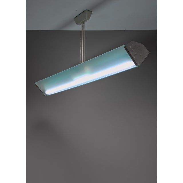 Lisa Johansson-Pape Tube Lamp, Orno, Finland, 1940s For Sale - Image 6 of 6