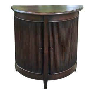 Antique Demilune Cabinet ~ Console For Sale