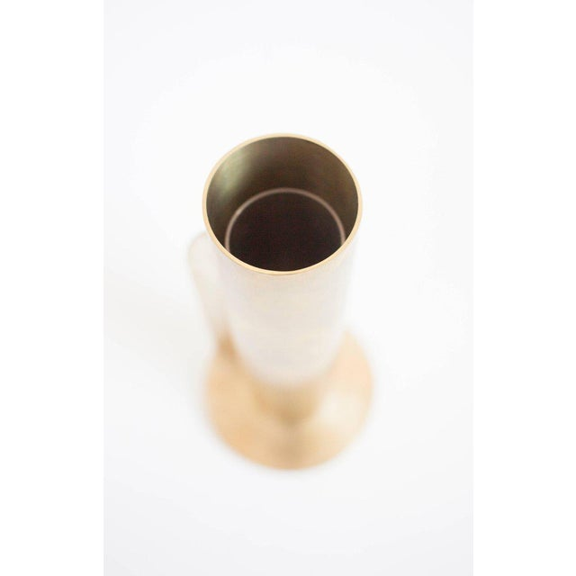 Contemporary Modern Contemporary 001 Vase in Brass by Orphan Work For Sale - Image 3 of 8