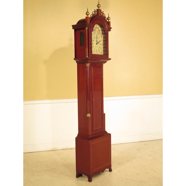 Sligh Simon Willard Roxbury Grandfather Clock - Image 2 of 10