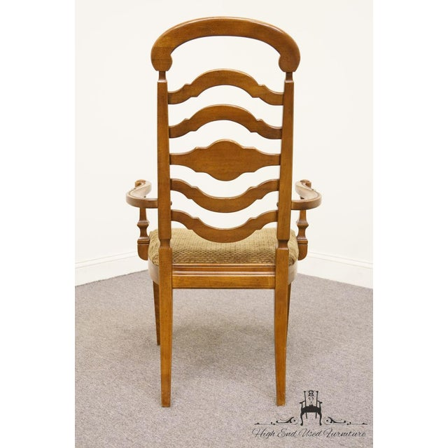 Thomasville Furniture Italian Provincial Tuscan Dining Arm Chair For Sale In Kansas City - Image 6 of 10