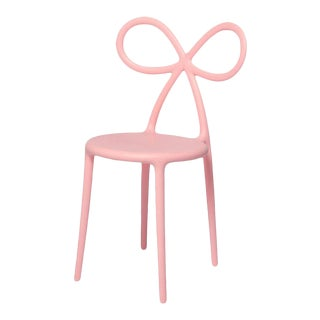 Pink Matte Ribbon Chair by Nika Zupanc For Sale
