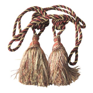 Traditional Tassel Tie Backs - a Pair For Sale