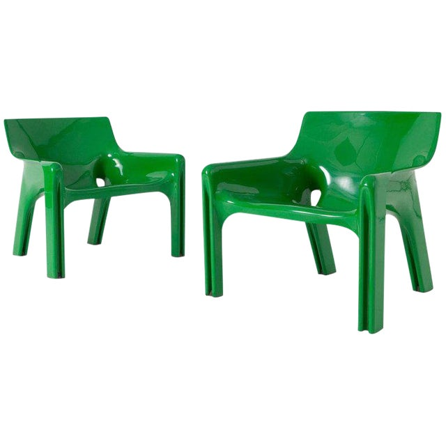Vico Magistrati Vicario Lounge Chairs For Sale