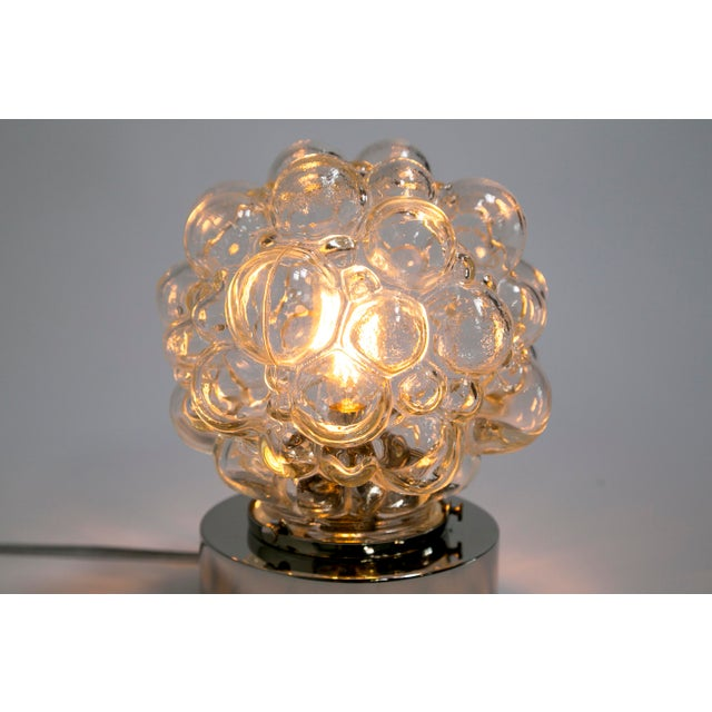 Dogfork Lamp Arts Glass Bubbles Table Lamp For Sale - Image 4 of 14