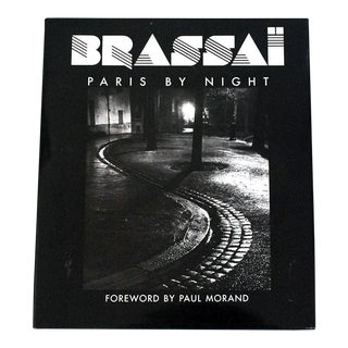 """Brassai: Paris by Night"" Photography Book For Sale"