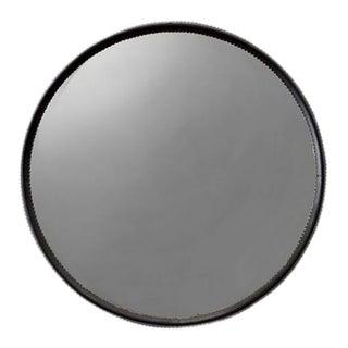 Otto Schulz Rare Round Mirror for Boet, Sweden, Ca. 1940