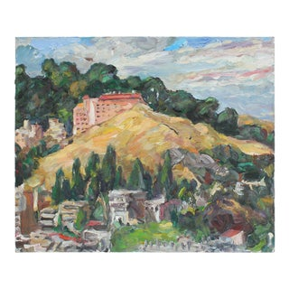 San Francisco Landscape, Oil on Canvas, 2006 For Sale