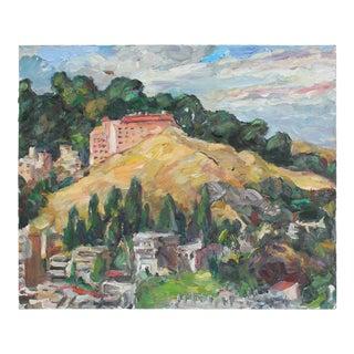 San Francisco Landscape, Oil on Canvas, 2006