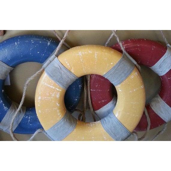 Vintage Nautical Life Rings - Set of 3 - Image 4 of 5