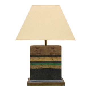 Jean Claude Mahey Table Lamp, Signed, France 1970s For Sale
