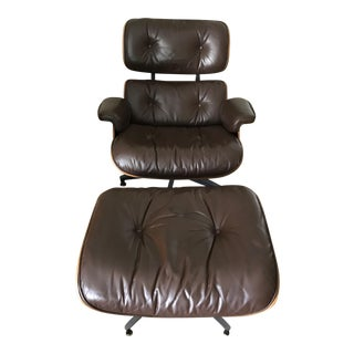 Original Eames Lounge Chair & Ottoman - A Pair