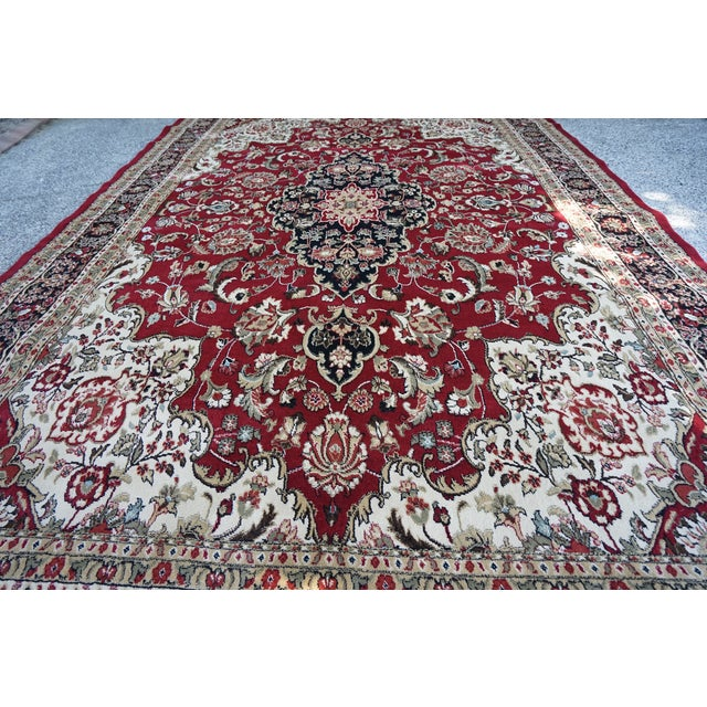 Persian Synthetic Rug - 9' x 12' - Image 3 of 4