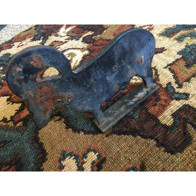 Vintage Cast Iron Ram Rustic Decor - Image 5 of 5