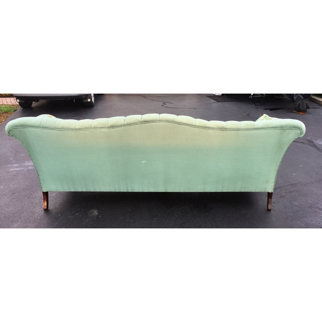 Early to Mid-Century Camelback Tufted Sofa - Image 5 of 6