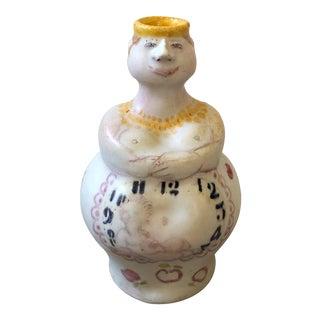 Italian Female Decanter / Vase For Sale