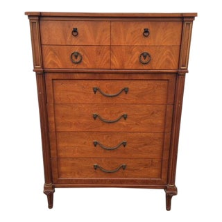 1960s French Regency Henredon Chest of Drawers For Sale