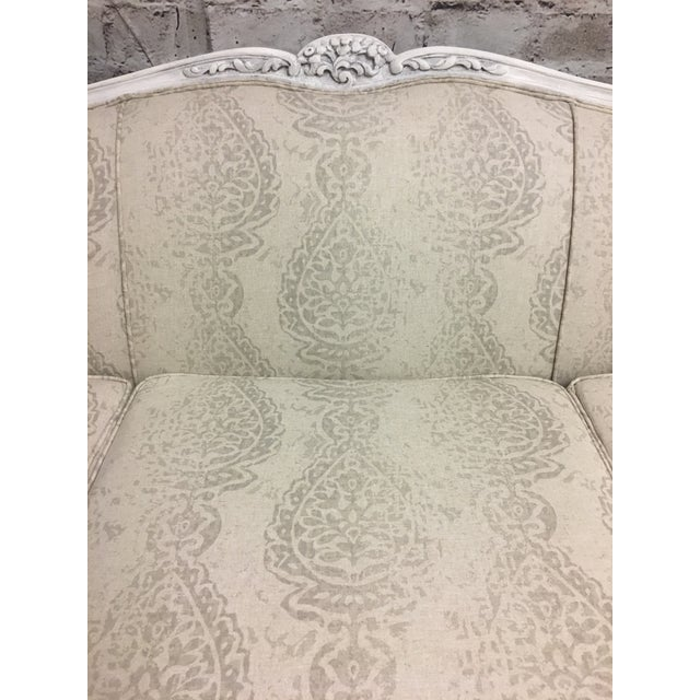 Reupholstered Vintage French Style Sofa - Image 5 of 7