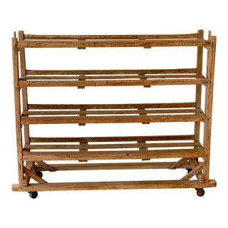 Late 19th Century English Shoe Drying Rack For Sale