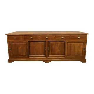 Late 20th Century Late 20th Century Thai Teak Sideboard For Sale