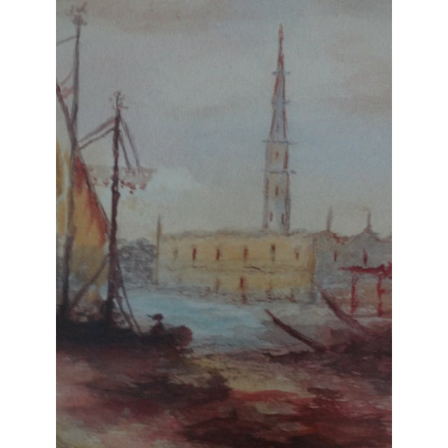 Impressionism Seascape Painting, the Grand Canal, Venice - Image 3 of 6
