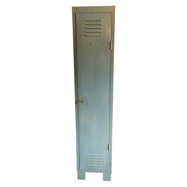 French Vintage 1 Door Locker - Image 1 of 7