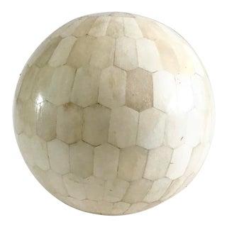1960s Tessellated Bone Ball For Sale