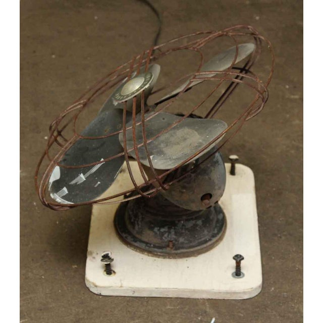 Vintage Westinghouse Wall Mount Fan For Sale - Image 5 of 6