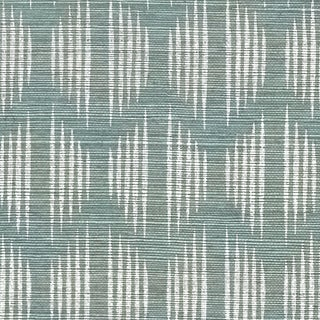 Schumacher X David Oliver Ovington Sisal Wallpaper in Mineral Preview