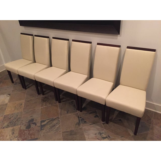 Contemporary Dining Chairs - Set of 6 - Image 2 of 5