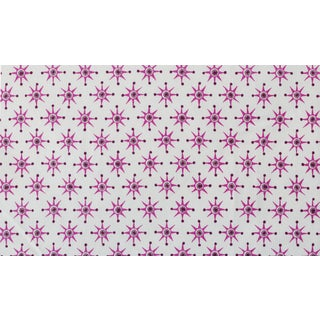 Virginia Kraft Prinz Fabric Sample, Rose/Blackberry For Sale