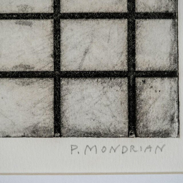 Abstract Slant select -- Untitled P. Mondrian For Sale - Image 3 of 4