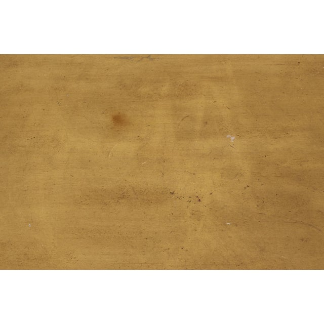Baker Furniture Faux Bamboo Coffee Table For Sale In Los Angeles - Image 6 of 7