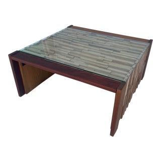 Percival Lafer Folding Side Table For Sale