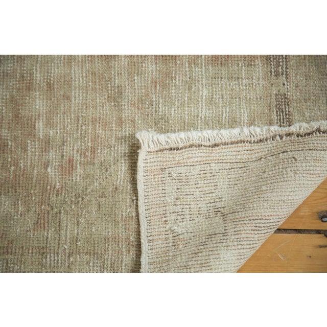 "Vintage Distressed Oushak Rug - 2'9"" x 5'3"" - Image 8 of 10"