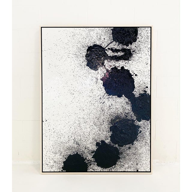 "John O'Hara ""Mucho"" Encaustic Painting For Sale In Saint Louis - Image 6 of 6"