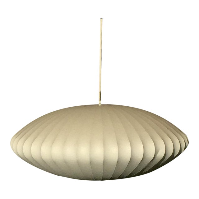 George Nelson Saucer Bubble Pendant Lamp - Image 1 of 7