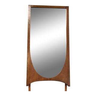 Broyhill Brasilia Walnut Mid Century Mirror For Sale