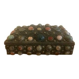 Vintage Jeweled Box