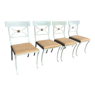 French Empire Chairs - Set of 4 For Sale