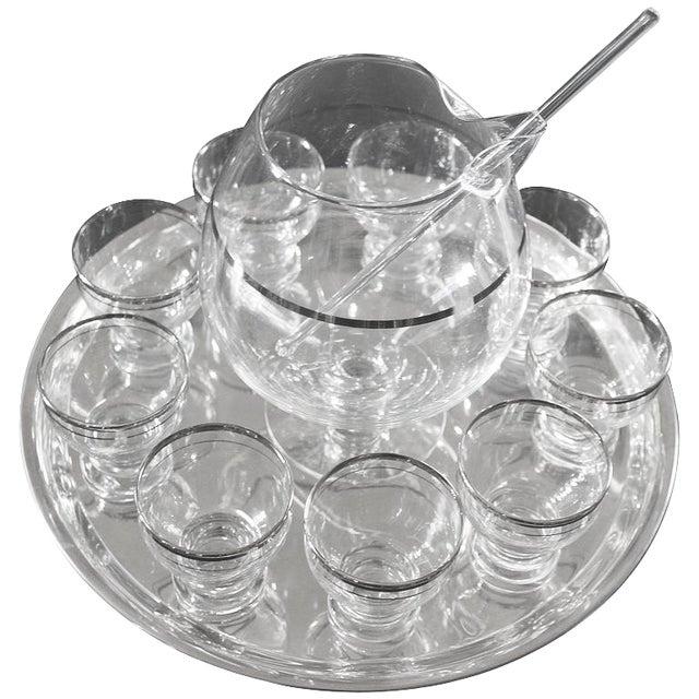 Transparent Martini Set - Set of 12 For Sale