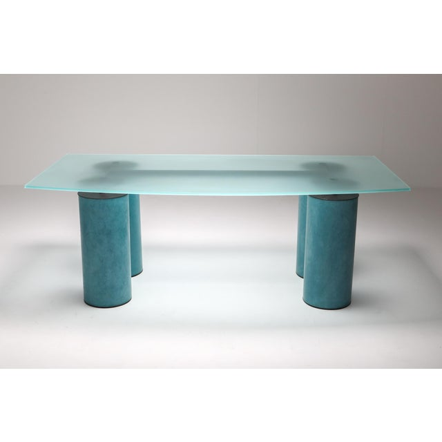 Acerbis 1970s Massimo Vignelli 'Serenissimo' Dining Table/Desk for Acerbis For Sale - Image 4 of 13