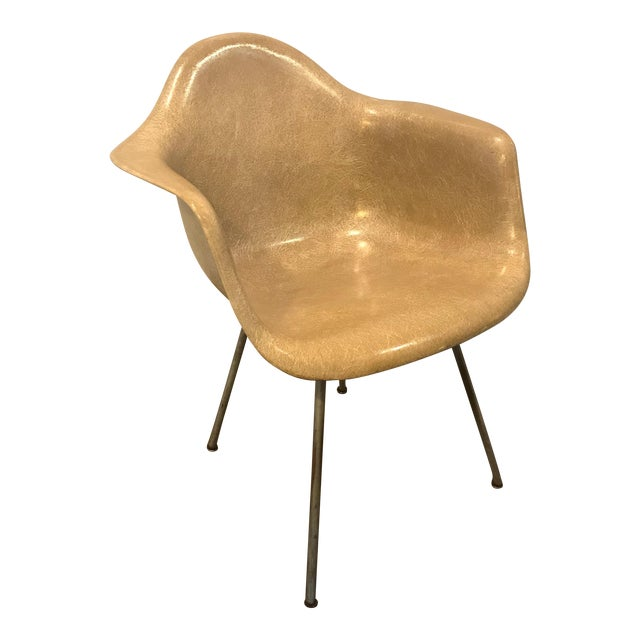 1950s Mid-Century Modern Eames for Herman Miller Zenith Shell Chair For Sale