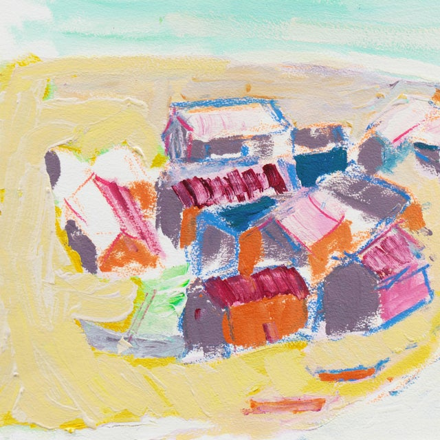 Expressionism Robert Canete, 'Fishermen's Cottage's, Old Monterey' For Sale - Image 3 of 9