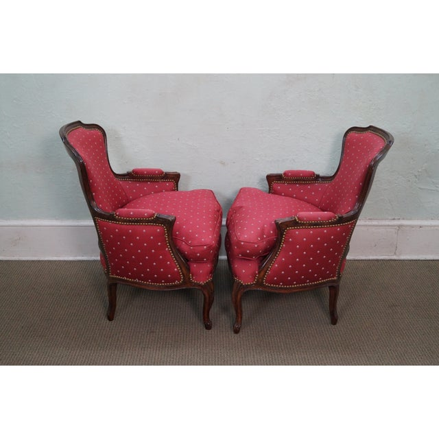 French Louis XV Style Bergere Chairs - A Pair - Image 3 of 10